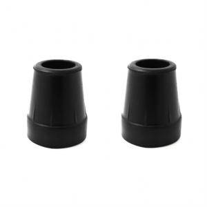 708101-2 - Krukdoppen 19 mm Zwart