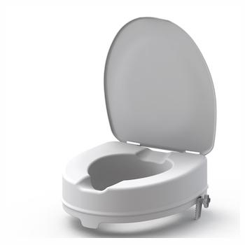1819030 - Toiletverhoger Ibiza 10 cm met Deksel