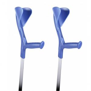 1808005-2 - Elleboogkrukken Open Manchet Blauw