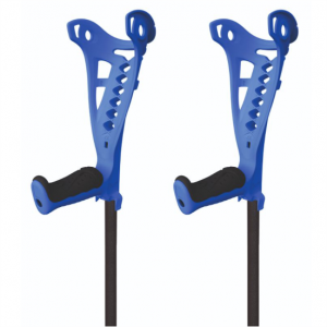 1808021-2 - Safe Walk Elleboogkrukken Blauw