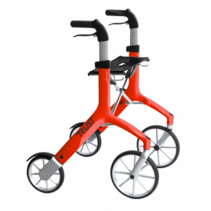 1712007 - TrustCare Let's Fly Rollator Rood