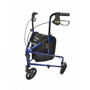 1712013 - 3-wiel Rollator Blauw