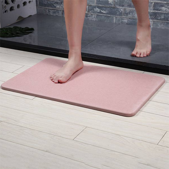 1819048 - Absorberende Anti-slip Badmat Roze