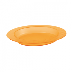 1820012 - Bord met schuine bodem oranje
