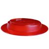 1820015 - Bord met schuine bodem rood 2