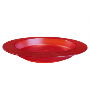 1820015 - Bord met schuine bodem rood