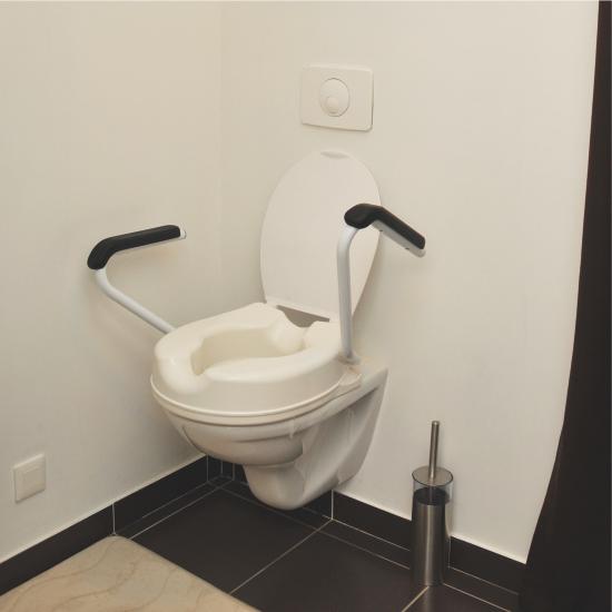 1721001 - Toiletverhoger Met Armsteunen