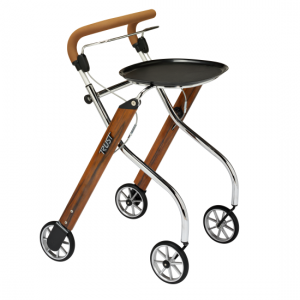2512011 - Let's go Indoor Rollator Teak