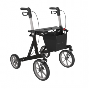 2412034 - Explorer Outdoor Rollator Zwart