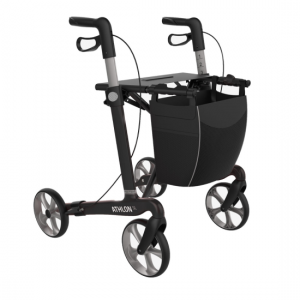 2412036 - Athlon Carbon Rollator Zwart Large