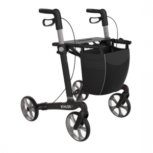 2412044 - Athlon Carbon Rollator Zwart Medium