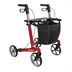 2412045 - Athlon Carbon Rollator Rood Medium