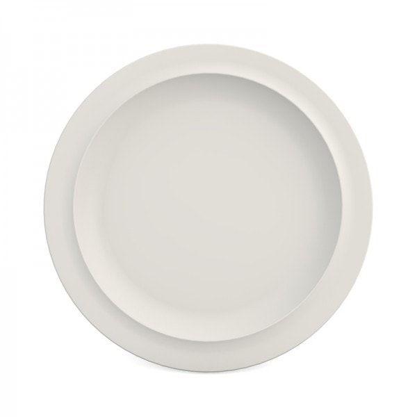 1920001 - Melamine Ontbijtbord 22 cm Wit
