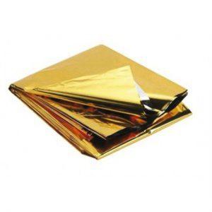 1822044 - Aluminium Reddingsdeken Goud Zilver