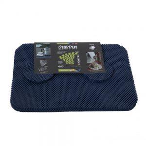 1720008 - Antislip Placemats Set Donkerblauw