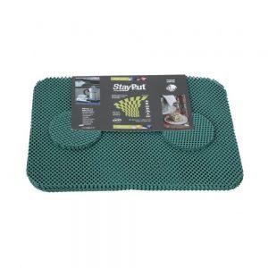 1720011 - Antislip Placemats Set Groen