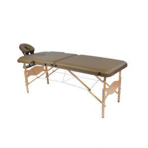 1822048 - Massagetafel Inklapbaar Bruin