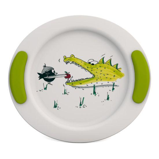 2920121 - Kinderbord Krokodil Groen