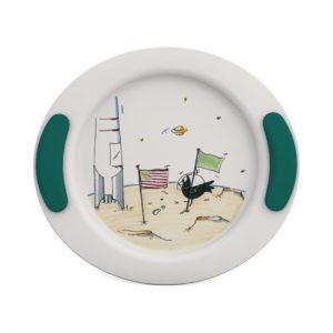 2920126 - Kinderbord Ruimtevaart Groen Blauw