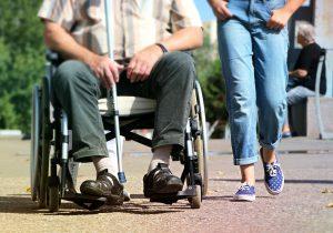 rolstoel gebruiken